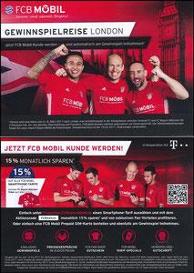 Bayern München, 2017, 02'2017, FCB Mobil 'USA-Reise'