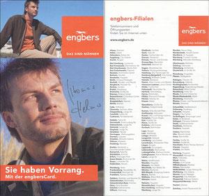 Helmer, 2004, Engbers 'Sie haben Vorrang - EngbersCard'