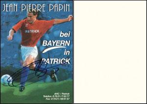 Papin, 1995, Patrick, Motiv 3, Aufkleber