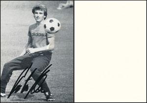 Kloo, 1976, Spielerkarte