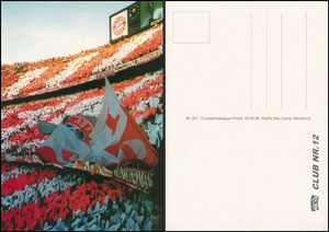 Postkarte, 1990er Jahre, 'Club Nr. 12', Motiv 4