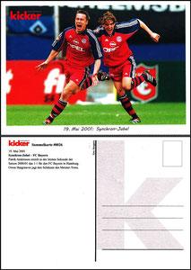 Kicker Sammelkarte 26, Andersson, Hargreaves