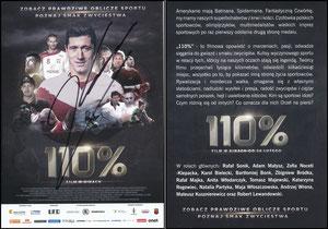 Lewandowski, 2016, '110%', polnischer Filmflyer