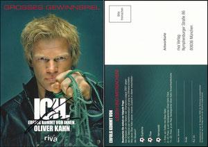 Kahn, 2008, 'Ich'-Gewinnspiel, signiert Aug. 2019