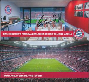 Allianz Arena, 2016, Events, signiert Hoeneß