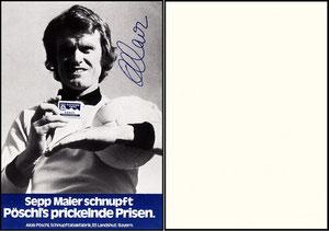 Maier, 1978, Pöschl Schnupftabak, ohn Druck-AG, Dank an SF Sven