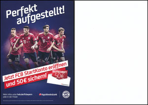 HypoVereinsbank, 2019, 'FCB Startkonto, 05'2019