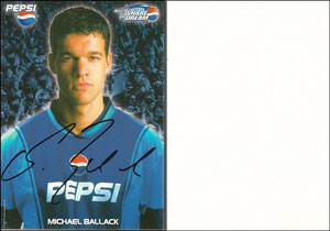 Ballack, 2002, Pepsi 'Share the dreams'