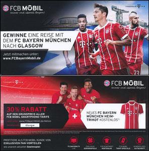 Bayern München, 2017, 10'2017, FCB Mobil 'Glasgow-Reise'