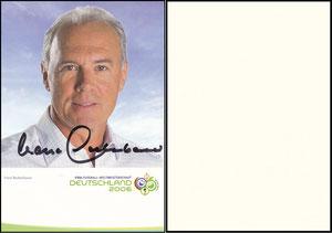 Beckenbauer, 2004, Fifa