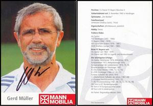 Müller, Gerd, 2006, Mann-Mobilia