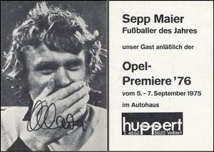 Maier, 1976, Autohaus Huppert