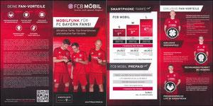 Bayern München, 2016, FCB Mobil, Klappflyer