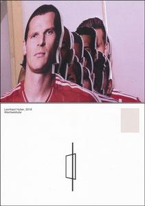 Bayern Erlebniswelt, 2019, 'Zwischen Atelier und Fußballplatz', Sonderausstellung 'Wechselstube', Motiv 2