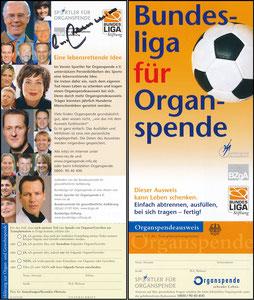 Beckenbauer, 2011, 'Sportler für Organspende'