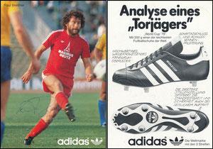 Breitner, 1980, Adidas 'Analyse eines Torjägers'