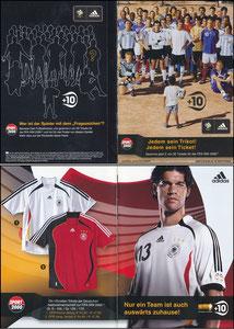 DFB, 2006, 'Fifa 2006', Klappfolder