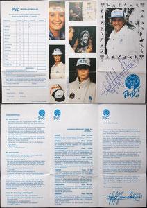 Pfaff, 1988, Playball, Flyer, Dank an SF Martin