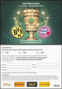 Sky, 2012, DFB-Pokalfinale, Gewinnspiel