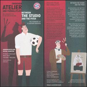 Bayern Erlebniswelt, 2019, 'Zwischen Atelier und Fußballplatz'