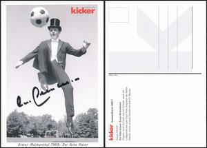 Kicker Sammelkarte 17, Beckenbauer