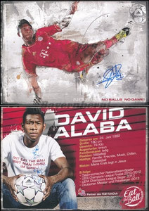 Alaba, 2014, 'Eat the Ball', Motiv 2