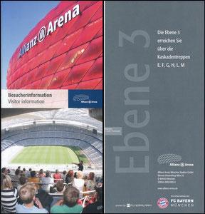 Allianz Arena, 2015, Besucherinfo