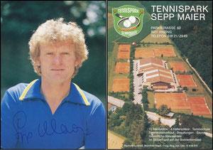 Maier, 1976, Tennispark