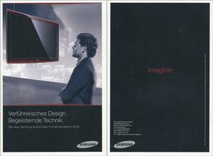 Ballack, 2008, Samsung TV, Booklet, A5