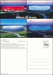 Allianz Arena, 2007, Stadionpostkarte
