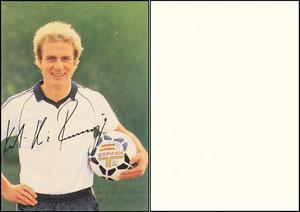 Rummenigge, 1982, DFB-Karte, 'Espagna'