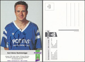 Rummenigge, 1993, Portas