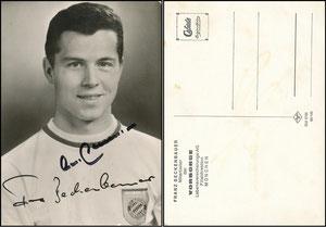 Beckenbauer, 1968, Vorsorge Lebensversicherung München, mit Druck-AG
