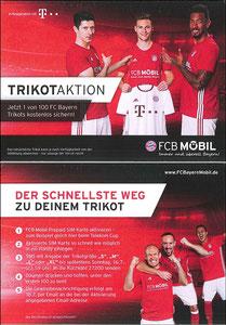 Bayern München, 2017', 07'2017, 'Trikot-Aktion', Dank an SF Robert