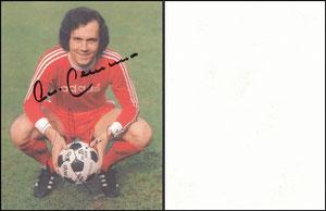 Beckenbauer, 1974, Adidas, Fehldruck 'mit Lächeln'