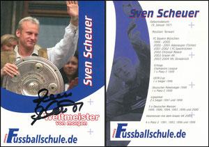 Scheuer, 2009, Fußballschule, Motive 199er Jahre