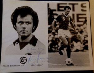 Beckenbauer, 1978, Cosmos NY, A5, Dank an SF Heiko
