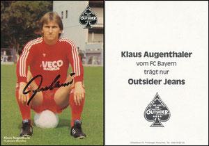 Augenthaler, 1980, Outsider Jeans, Karte 2