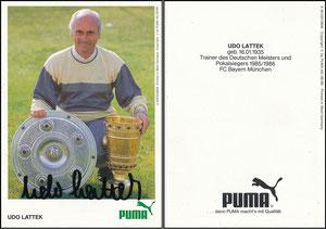 Lattek, 1986, Puma, MIT Beschriftung am rechten Rand