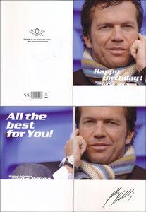 Matthäus, 2008, Geburtstagskarte 'Promi Card'