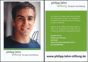 Lahm, 2017, Philipp-Lahm-Stiftung