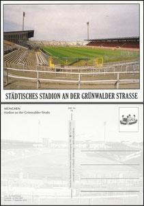 Postkarte, 2009, Grünwalder Stadion, DSS-Karte