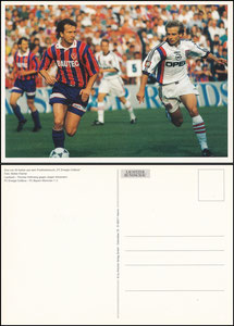 Postkarte, 2000er, Postkartenkalender Energie Kottbus, Motiv Cottbus-Bayern 1996, Motiv 2