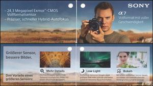 Neuer, 2019, Sony 'Alpha 7', Klein-Klappkarte