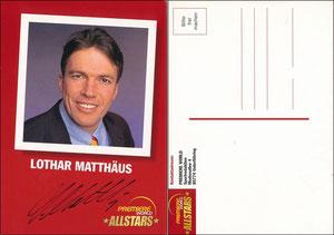 Matthäus, 2001, Premiere AllStars, weiße Rückseite