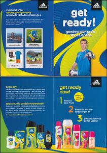 Neuer, 2014, Adidas 'Get Ready', Klappkarte