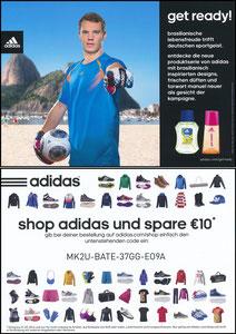 Neuer, 2014, Adidas 'Get Ready'