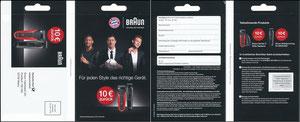 P&G, 2016, 09'2016, 'Braun', Klappkarte '10€ zurück'