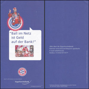 Hypovereinsbank, 2003, Folder