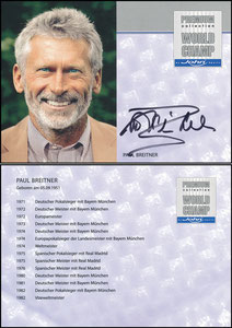 Breitner, 2013, John-Sport, rückseitig OHNE 'seit 2001 Kolumnist bei der Bild am Sonntag', Datum länger als Name